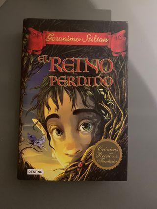 Libro geronimo stilton el reino perdido nuevo