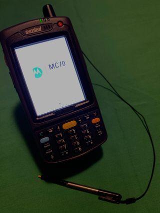 Motorola Symbol MC70 (pantalla con zona blanca)