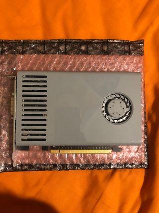 Tarjeta gráfica Nvidia GeForce GT 120 Mac