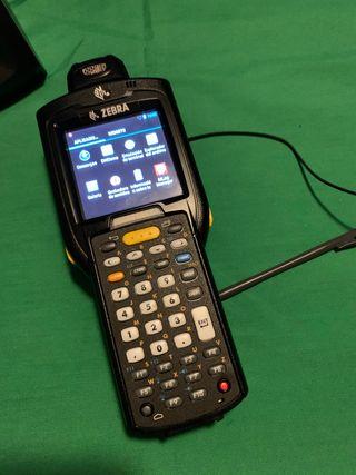 Zebra Motorola MC3200 con base de carga