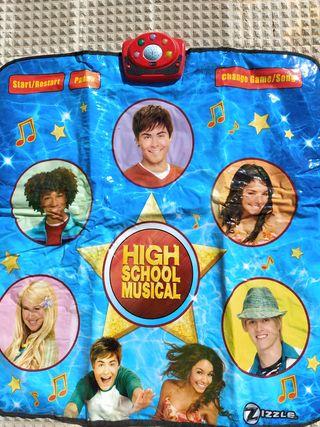 alfombra musical high school musical