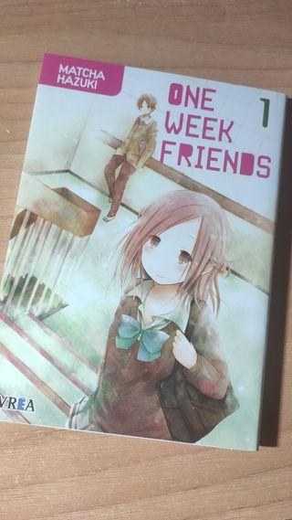 Manga One Week Friends