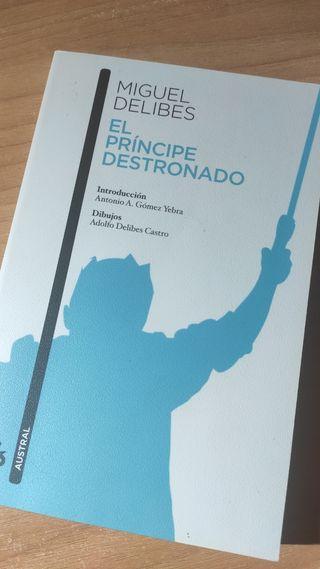 El principe destronado Libro