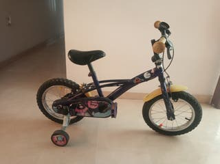 bicicleta de ruedines