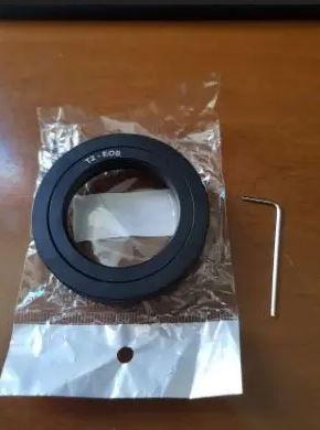Anillo T para Canon EOS - TELESCOPIO