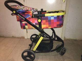 Silla de bebé grupo 0, capazo y silla paseo