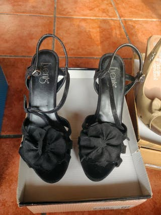 sandalias de tacon alto