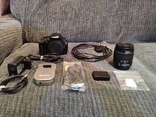 Canon EOS 1100D modificada astrofotografía