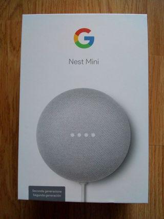 Altavoz inteligente Nest Mini