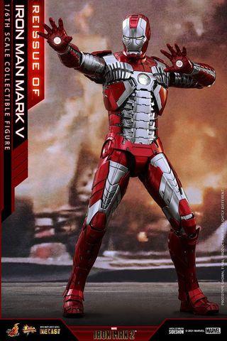 Hot toys iron man mk 5 reissue
