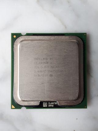 Procesador Intel celeron d 2.8 Ghz