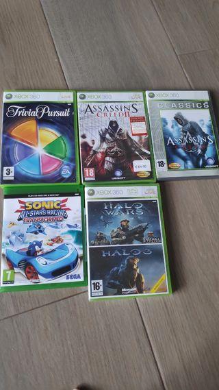 juegos Xbox 360 y one