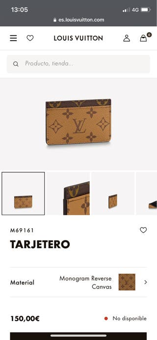 Tarjetero Louis Vuitton original