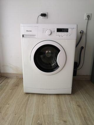 vendo lavadora Hisense de 6k A++.
