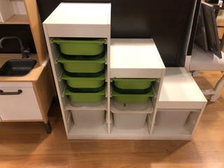 Mueble de almacenaje, juguetero