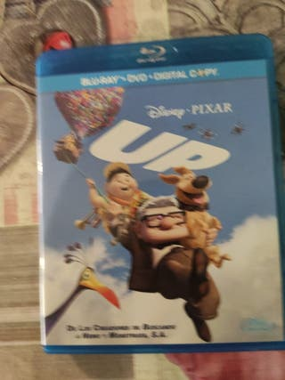 Blu-ray de la película de Pixar up