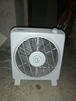 ventilador y calefactor portatil