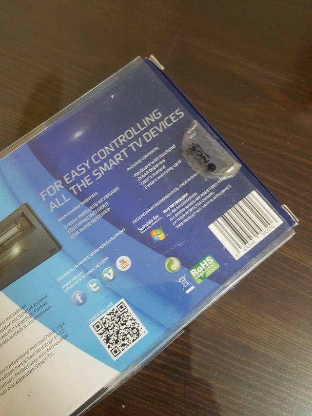 Teclado wifi para smart TV