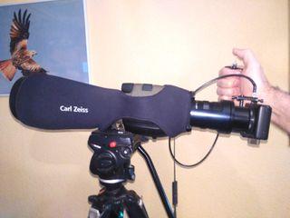 TELESCOPIO ZEISS FL85 DIGISCOPING CANON S95