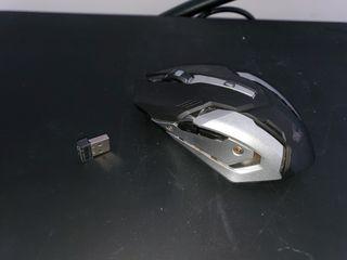 Gaming - Teclado, raton, alfombrilla inalambrica