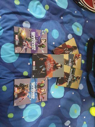 Pack Películas Marvel DVD
