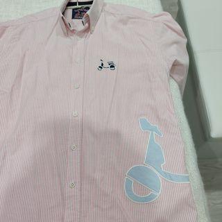 camisa backslide vespa