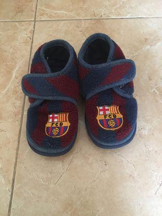 Zapatillas del Barça unisex 25-26