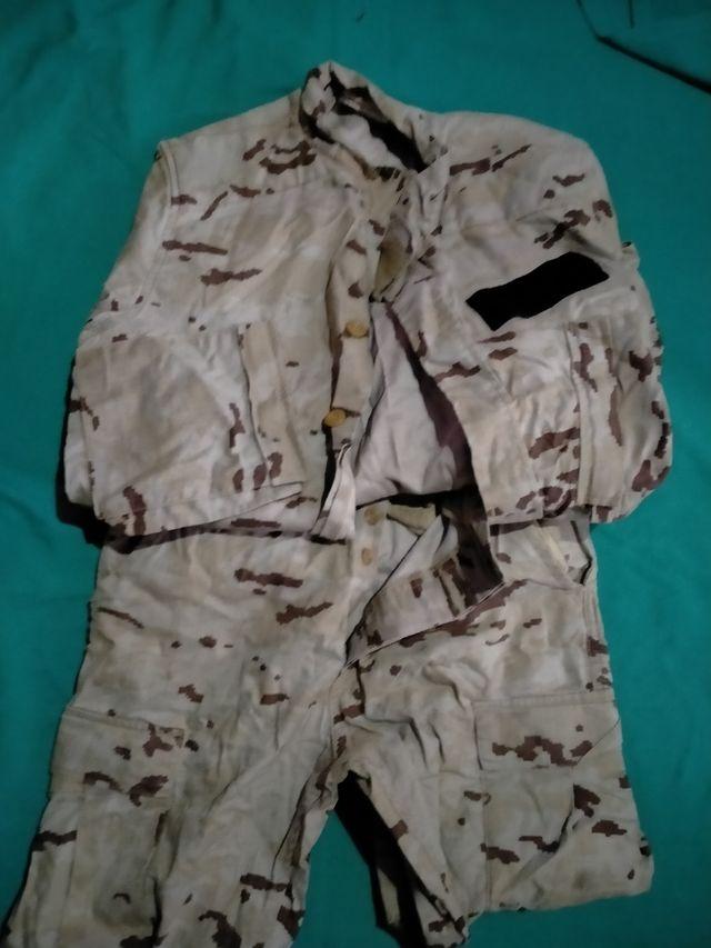 uniformes áridos