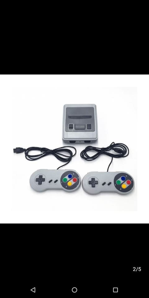 Mini Super Nintendo + 600 Games