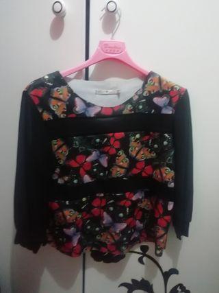 camiseta mariposas