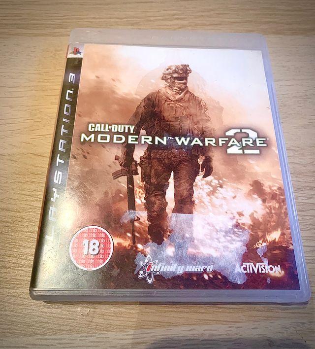 PS3 game COD Modern Warfare 2