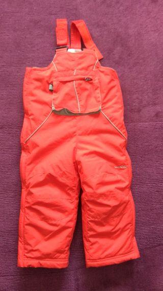 Pantalon peto nieve 3 años