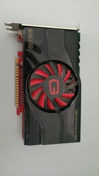 tarjeta gráfica NVIDIA gainward gts 450 1Gb DDR5