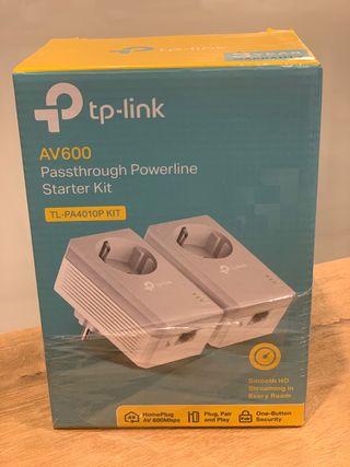 Adaptador PLC AV 600 Mpbs TP-Link