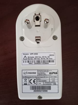 ADAPTADOR PLC INTERNET