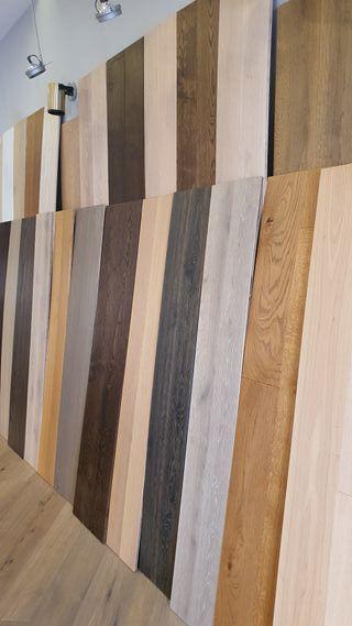 Suelos de madera natural en oferta!