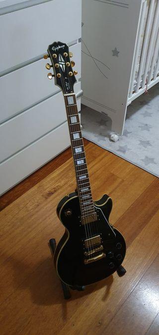 Guitarra Epiphone Les Paul Custom Ebony