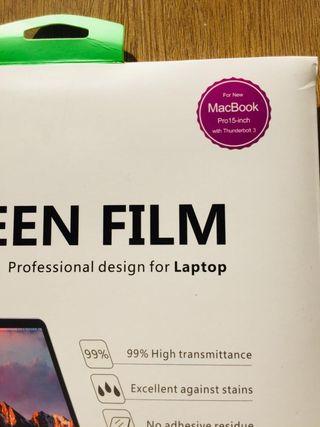 Protector de Pantalla MacBook Pro 15 Pulgadas