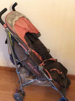 Carro McLaren + saco + accesorios
