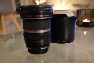 Objetivo Canon EFs 10-22mm f/3.5-4.5 USM