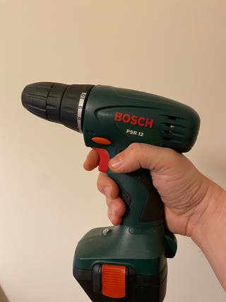 Atornilladora taladradora Bosch 2 baterías - 15eur
