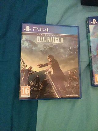 Final fantasy XV y Final Fantasy X /X-2 + regalo