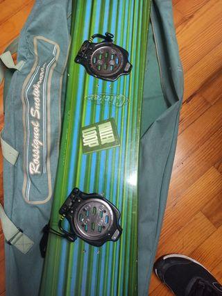 Fijaciones snowboard clicker k2