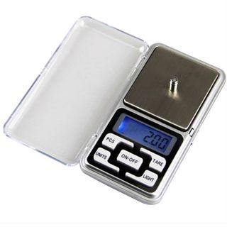 Báscula digital de bolsillo joyería 500 gr.- 0,01g