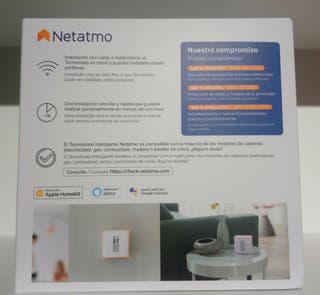 Netatmo termostato inteligente