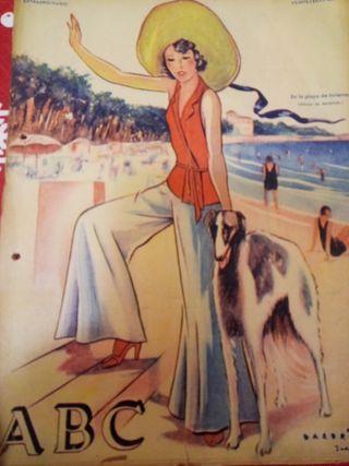 antiguo periodico 1932