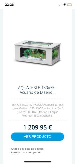 Aquario de diseño