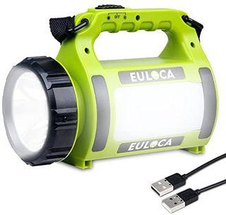Linterna LED Regarcable con 3 Modos