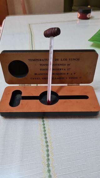 Termómetro para vinos