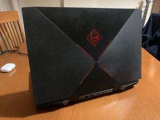 Portátil Gaming RTX 2060 i7 HP OMEN 15-dc1002ns